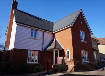 Thumbnail 4 bed detached house for sale in Firecrest Drive, Stowmarket
