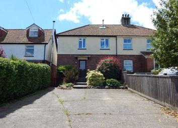 Thumbnail 3 bedroom semi-detached house for sale in Hillside, Colyton, Devon