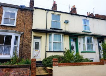 Thumbnail 2 bed terraced house for sale in New Road, Driffield