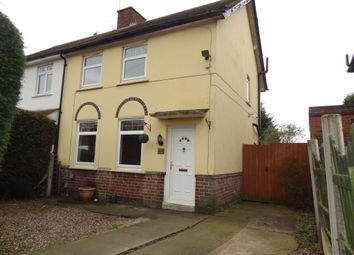 Thumbnail 2 bed semi-detached house for sale in Dormer Avenue, Tamworth