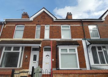 Thumbnail 2 bedroom terraced house to rent in Somerville Street, Crewe