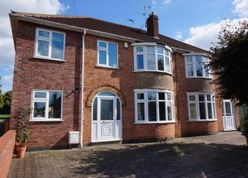 Thumbnail 4 bed semi-detached house for sale in Thirlmere Road, Wigston