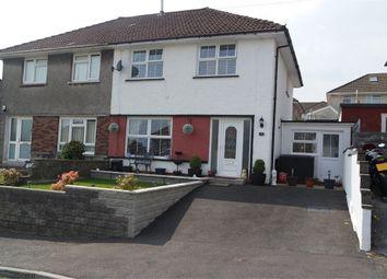 Thumbnail Semi-detached house for sale in Coronation Road, Llangynwyd, Maesteg, Mid Glamorgan
