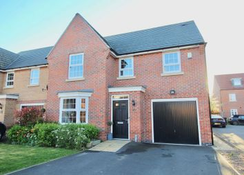 Thumbnail 4 bed detached house for sale in Titus Way, Kings Court, North Hykeham, Lincoln