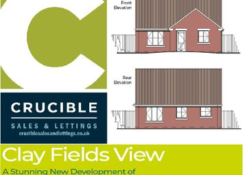 Thumbnail 3 bed detached bungalow for sale in Plot 4, Clay Fields View, Clay Cross, Chesterfield
