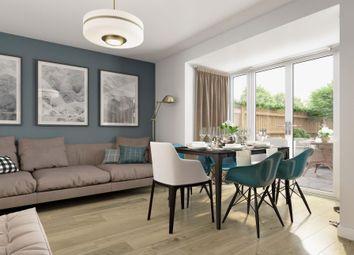 "Thumbnail 4 bedroom terraced house for sale in ""Burrington"" at Wedgwood Drive, Barlaston, Stoke-On-Trent"