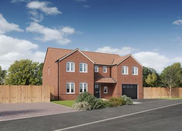 """Thumbnail 5 bed detached house for sale in """"The Chillingham """" at Brookers Hill, Shinfield, Reading"""