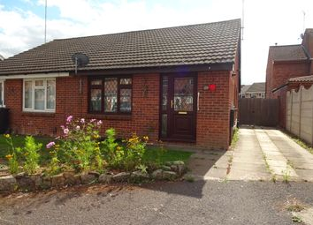 Thumbnail 2 bed bungalow to rent in Marsh Close, Leicester