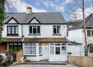 Thumbnail 3 bed semi-detached house for sale in Godstone Road, Purley, Surrey