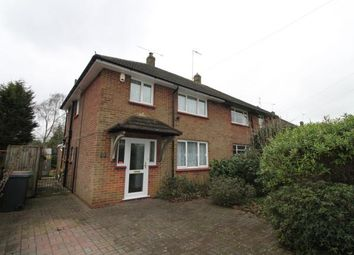 Thumbnail 3 bed semi-detached house for sale in Camberley, Surrey