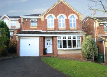 Thumbnail 4 bed detached house for sale in Wavell Close, Worksop, Nottinghamshire