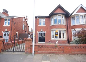 Thumbnail 4 bed semi-detached house for sale in Knowsley Avenue, Blackpool