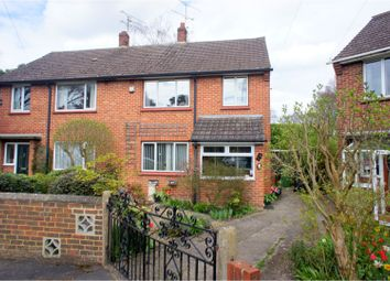 Thumbnail 3 bed semi-detached house for sale in Caesars Camp Road, Camberley