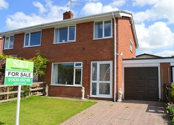 Thumbnail 1 bed semi-detached house to rent in Elm Drive, Market Drayton