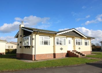 Thumbnail 2 bed bungalow for sale in Meadow View Park Skinburness Drive, Silloth, Wigton