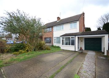 Thumbnail 3 bed semi-detached house for sale in Field Way, Aldershot, Hampshire