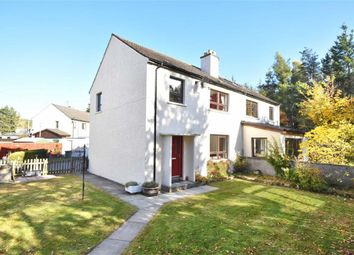 Thumbnail 3 bed semi-detached house for sale in Church Place, Dulnain Bridge, Grantown-On-Spey