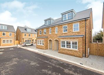 Thumbnail 4 bed semi-detached house to rent in Whitton Road, Twickenham