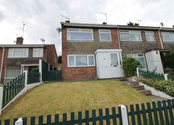 Thumbnail 3 bed end terrace house to rent in Hillside Road, Blidworth, Mansfield