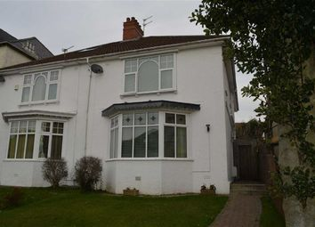 Thumbnail 3 bed semi-detached house for sale in Queens Road, Swansea