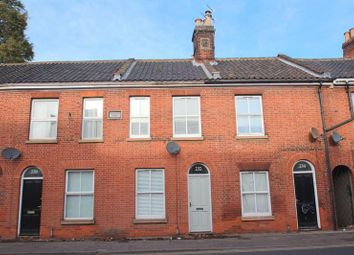 Thumbnail 2 bedroom terraced house for sale in Queens Road, Norwich
