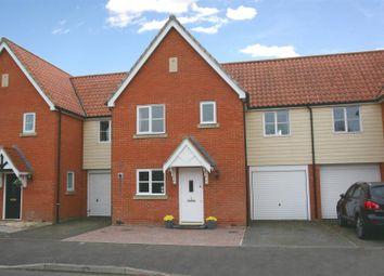 Thumbnail 3 bedroom terraced house for sale in Sycamore Drive, Rendlesham, Woodbridge