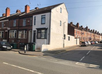 Thumbnail 1 bed end terrace house to rent in Gulson Rd, Coventry