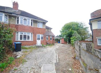 Thumbnail 4 bed semi-detached house for sale in Worthington Crescent, Lower Parkstone, Poole