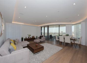 Thumbnail 3 bedroom flat to rent in The Corniche, Tower One, 23 Albert Embankment, London