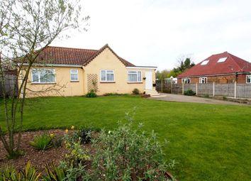 Thumbnail 4 bed detached bungalow for sale in Park Lane, Silfield, Wymondham
