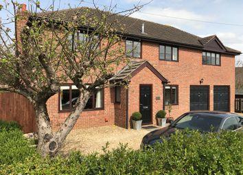 Thumbnail 4 bed semi-detached house for sale in Stallpits Road, Shrivenham, Swindon