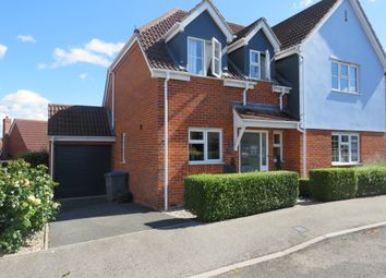 Thumbnail 2 bed semi-detached house for sale in Castle Brooks, Framlingham, Woodbridge