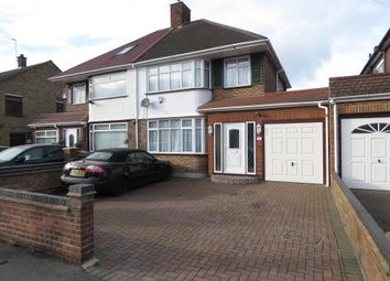 Thumbnail 3 bed semi-detached house for sale in Chatsworth Road, Yeading, Hayes