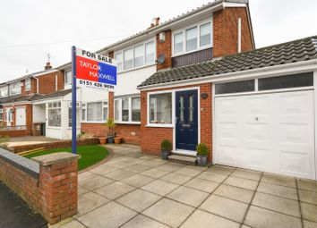 Thumbnail 3 bed semi-detached house for sale in Bishopdale Drive, Rainhill, Prescot