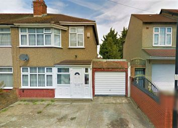 Thumbnail 3 bed semi-detached house to rent in Waxlow Crescent, Southall