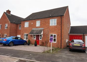 Thumbnail 4 bed detached house for sale in Jackson Road, Coalville