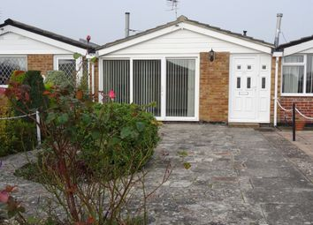 Thumbnail 1 bed terraced bungalow for sale in Martello Close, Gosport