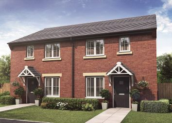 Thumbnail 3 bedroom semi-detached house for sale in Rotary Way, Willowbrook Grange, Crewe