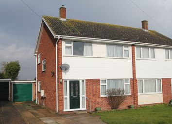Thumbnail 3 bed semi-detached house for sale in The Rise, Eight Ash Green, Colchester