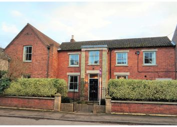 Thumbnail 5 bed link-detached house for sale in High Road, Barrowby, Grantham