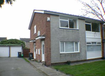 Thumbnail 2 bed flat to rent in Lindsey Close, Bessacarr, Doncaster