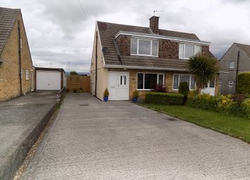Thumbnail 3 bed semi-detached bungalow for sale in Merlin Crescent, Cefn Glas, Bridgend.