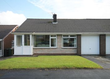 Thumbnail 2 bed semi-detached bungalow for sale in Lichfield Close, Farnworth, Bolton