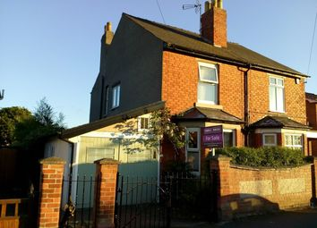 Thumbnail 3 bed semi-detached house for sale in Garden Road, Nottingham