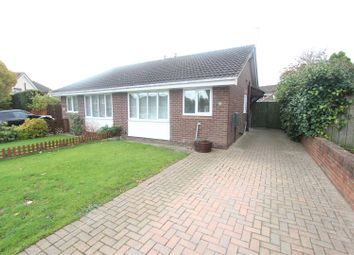 Thumbnail 2 bed semi-detached bungalow for sale in Bamburgh Crescent, Newton Aycliffe