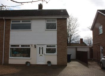 Thumbnail 3 bed semi-detached house to rent in Park Way, Offord Cluny, St. Neots