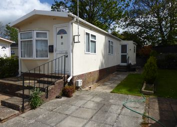 Thumbnail 2 bed mobile/park home for sale in Valdean Park, Alresford, Hampshire