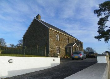 Thumbnail 4 bed detached house for sale in Wellfield Road, Abergwili, Carmarthen