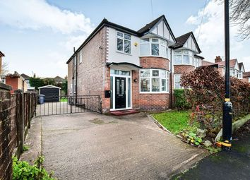 Thumbnail 4 bed semi-detached house for sale in Woodheys Drive, Sale