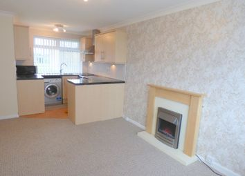 Thumbnail 1 bedroom flat to rent in Holystone Avenue, Blyth